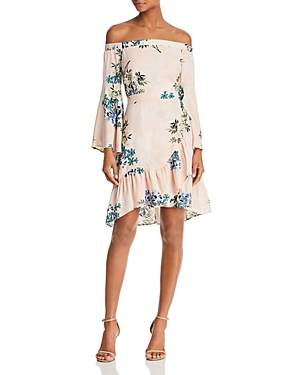 Astr  ASTR OPHELIA OFF-THE-SHOULDER DRESS