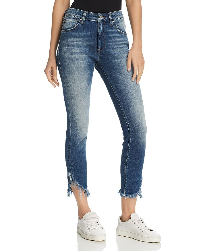Mavi - Tess Vintage High Rise Skinny Jeans in Extreme Ripped Vintage