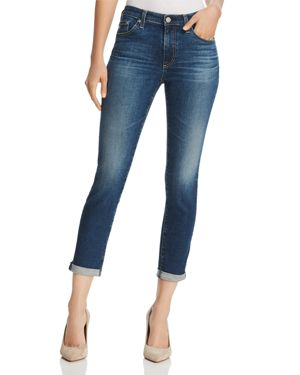 Ag Prima Roll-Up Skinny Jeans in 5 Years Cobalt - 100% Exclusive 2812035