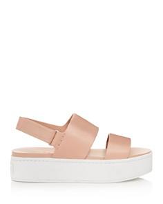 Vince - Women's Westport Leather Platform Sandals - 100% Exclusive