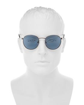 Polaroid - Men's Polarized Round Sunglasses, 51mm
