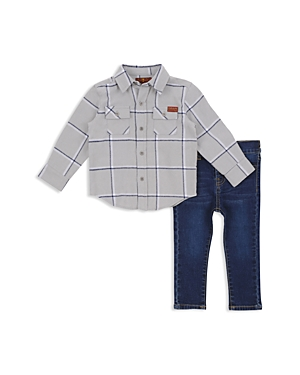 7 For All Mankind Boys ButtonDown Shirt  Jeans Set  Baby