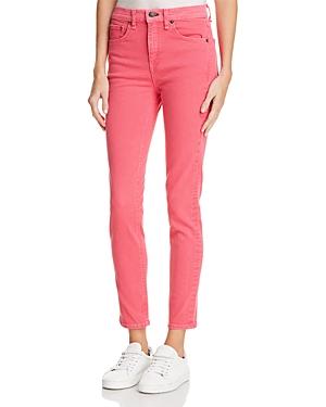 rag & bone/Jean High Rise Skinny Jeans in Bull Pink