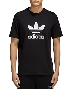 adidas Originals Trefoil Logo Short Sleeve Tee - Bloomingdale's_0