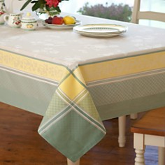 "Villeroy & Boch - Fleurence Jacquard Tablecloth, 68"" x 126"""
