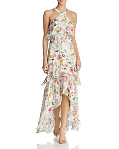Parker Fillipa Ruffled Silk Dress - Bloomingdale's_0