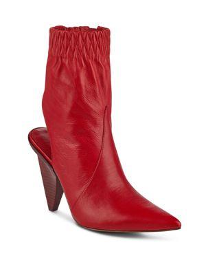 Sigerson Morrison Women's Jojoe Leather Open Back Booties 2755520