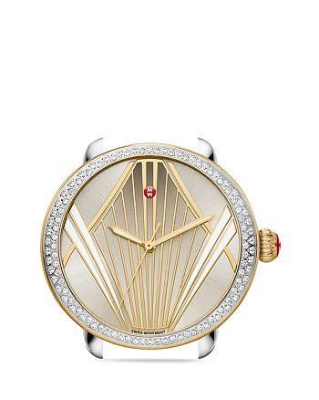 MICHELE - Serein Broadway Diamond Watch Head, 38mm