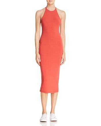 alexanderwang.t - T-Back Jersey Midi Dress