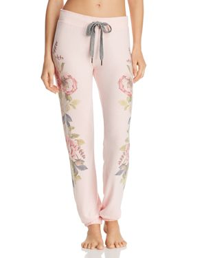 Pj Salvage Floral Jogger Pants