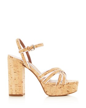 Tabitha Simmons - Women's Hensley Cork Platform High-Heel Sandals
