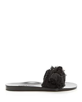 MARION PARKE - Women's Jordan Fringed Slide Sandals