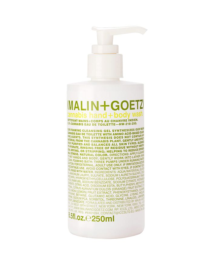 MALIN and GOETZ - Cannabis Hand+Body Wash 8.5 oz.