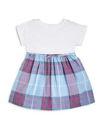 c54ccf85d9786 Burberry - Girls  Mini Rosey Check Skirt Dress - Baby