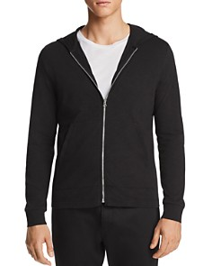 Theory Layer Zip Hooded Sweatshirt - Bloomingdale's_0