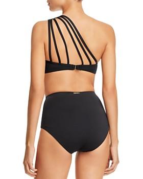 Laundry by Shelli Segal - One Shoulder Bikini Top & High Waist Bikini Bottom