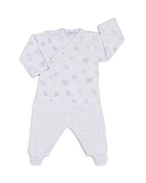 Kissy Kissy Unisex Sweetest Dreams Lambs Footie Pajama Set - Baby