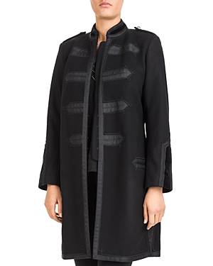 The Kooples Military-Style Banded Coat