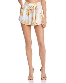 For Love & Lemons - Lemonade Belted Shorts