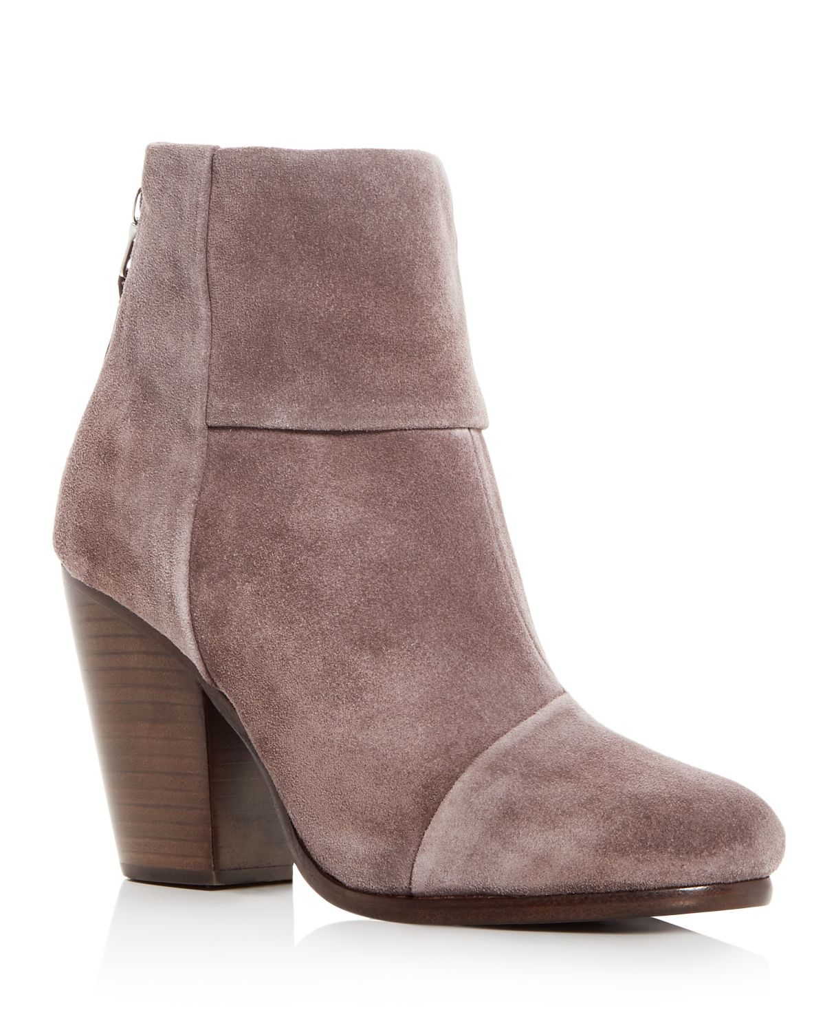 RAG&BONE Women's Newbury Suede Cap Toe High-Heel Booties