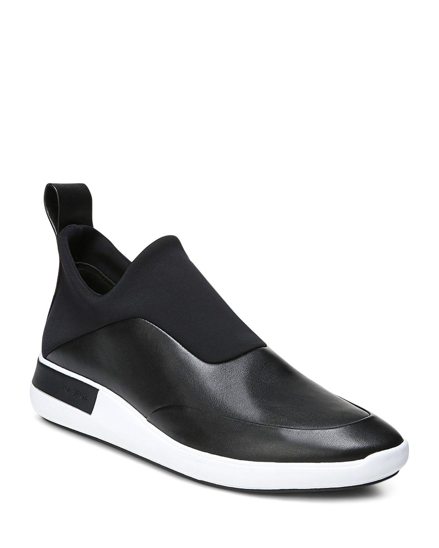 Via Spiga Women's Mercer Leather & Neoprene Slip-On Sneakers