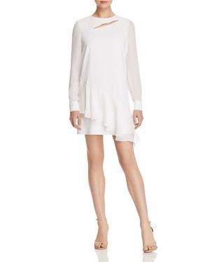 Parker Chloe Asymmetric Cutout Dress