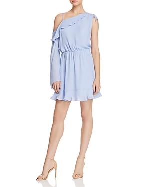 Parker Peyton Asymmetric Silk Dress