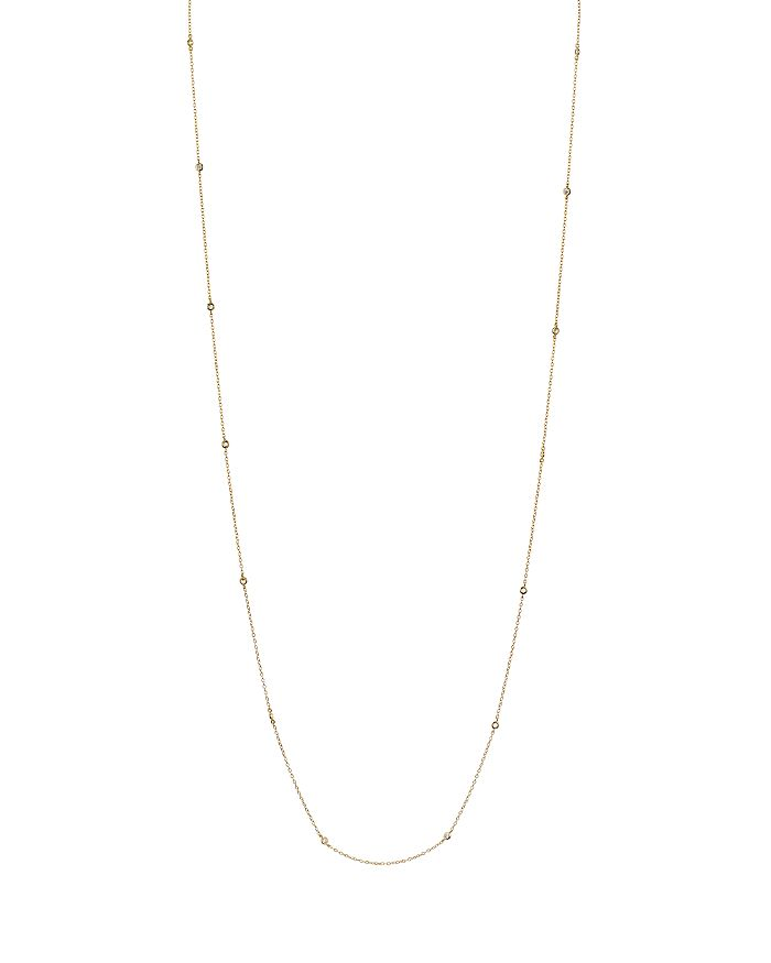 "AQUA - Sterling Silver Thin Chain Necklace, 36"" - 100% Exclusive"