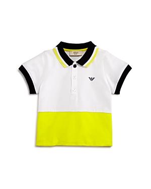 Armani Junior Boys' Color-Block Polo - Baby