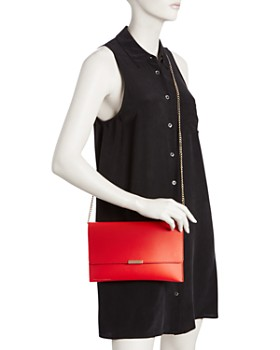Loeffler Randall - Leather Envelope Clutch