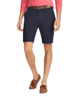 POLO RALPH LAUREN STRETCH CLASSIC FIT CHINO SHORTS, AVIATOR NAVY