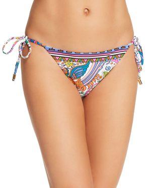 Trina Turk Jungle Beach Side Tie Bikini Bottom
