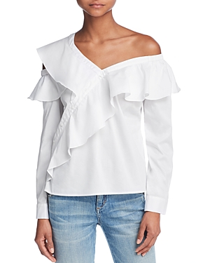Guess Winslow Asymmetric One-Shoulder Top