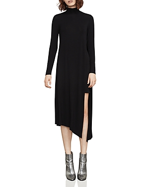Bcbgmaxazria Kabrina Asymmetric Turtleneck Dress