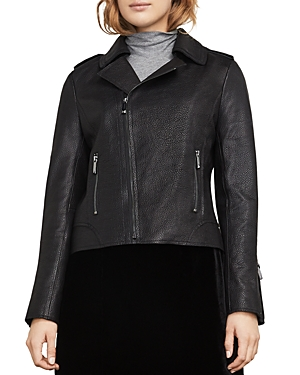 Bcbgmaxazria Chase Leather Moto Jacket