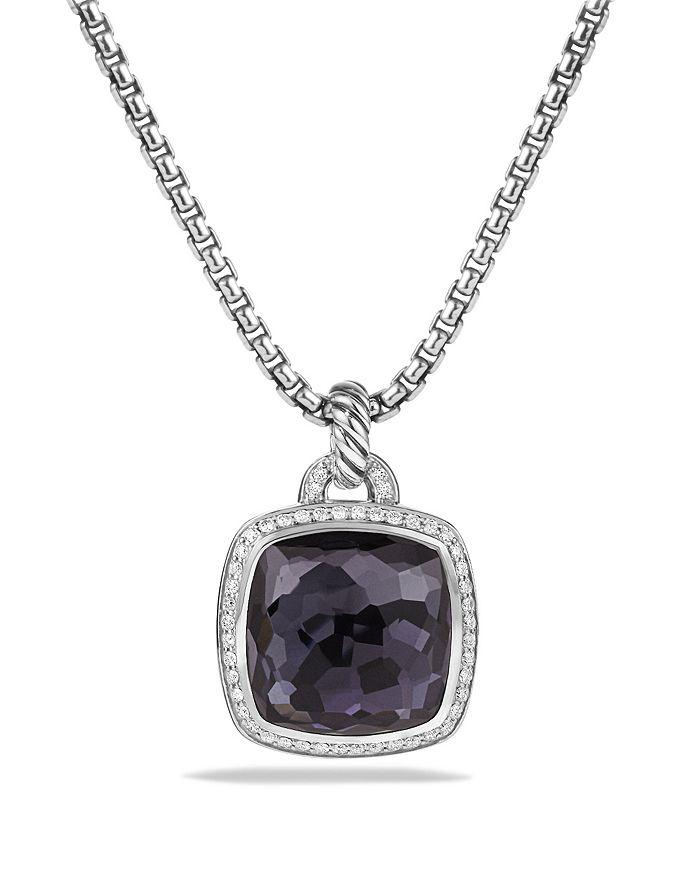 David Yurman - Albion Pendant with Black Orchid & Diamonds