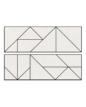 Art Addiction Inc. - Geometric Folds Wall Art - 100% Exclusive