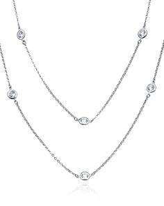 "Crislu Layered Necklace, 36"" - Bloomingdale's_0"
