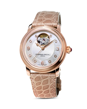 Frederique Constant Heart Beat Diamond Watch, 34mm