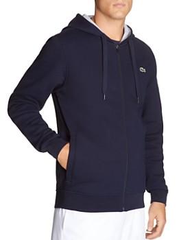 12d510e71ada Lacoste - Zip Hooded Sweatshirt ...