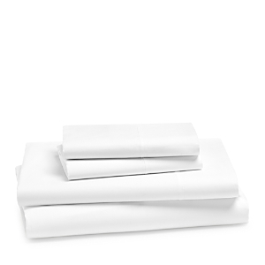 Hudson Park Collection 470TC Percale Solid Sheet Set, Twin - 100% Exclusive