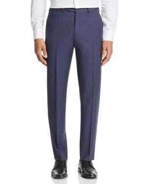 Emporio Armani Micro Check Regular Fit Dress Pants