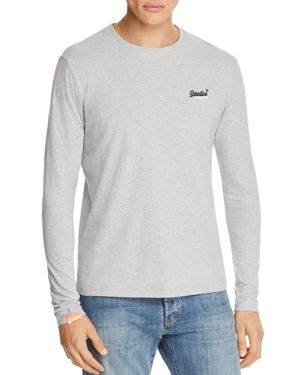 SUPERDRY ORANGE LABEL VINTAGE EMBROIDERED LONG SLEEVE TEE