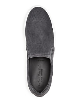 To Boot New York - Men's Buelton Perforated Suede Slip-On Sneakers