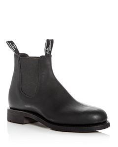 804bbd7443eea6 R.M. Williams Men's Comfort Craftsman Leather Chelsea Boots ...