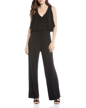 COLD-SHOULDER JUMPSUIT