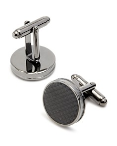 The Men's Store at Bloomingdale's Carbon Fiber Cufflinks - 100% Exclusive_0
