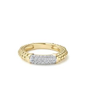 LAGOS - Caviar Gold Collection 18K Gold & Diamond Ring