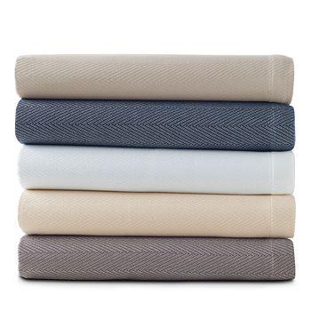 Hudson Park Collection - Chevron Blanket, Full/Queen - 100% Exclusive