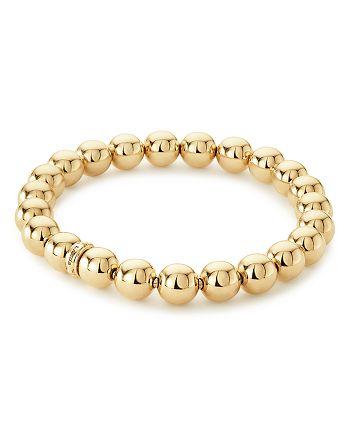 LAGOS - Caviar Gold Collection 18K Gold Beaded Bracelet, 8mm